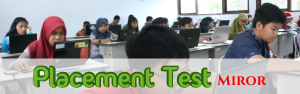 Placement Test (Miror)