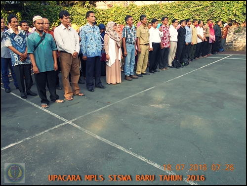 UPACARA MPLS SMP N 4 PAKEM 2016 (1)