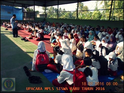 PEMBUKAAN MASA PLS SISWA BARU 2016/2017
