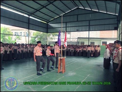 PERINGATAN HARI PRAMUKA KE -55 SMP N 4 PAKEM 2016 (3)