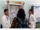 Muhammad Fatih Husaen (kanan) dan Moza Anoemoda Mahasa (kiri) dalam LKIR Sleman 2018 di Sanggar Kegiatan Belajar Sleman Jumat