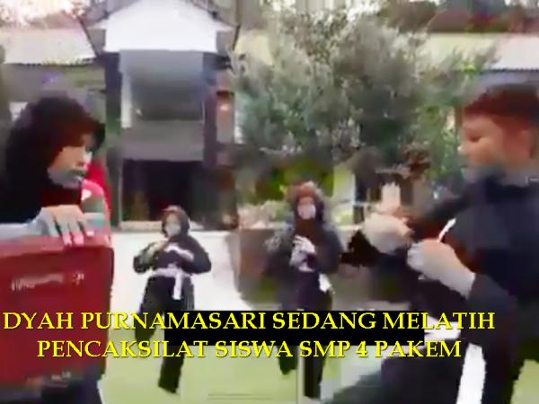 DYAH PURNAMASARI MEWAKILI INDONESIA DI INDIA CABANG PENCAKSILAT