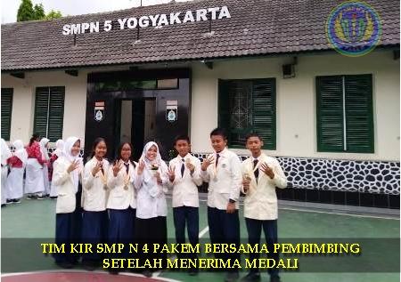 TIM KIR IPA DAN IPS SMP 4 PAKEM BOYONG EMAS
