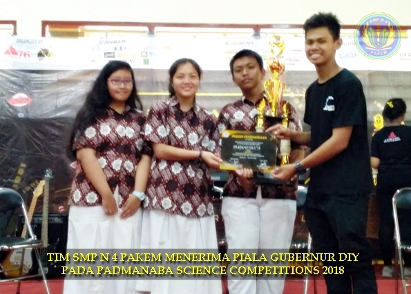 SMP N 4 PAKEM JUARA I PADMANABA SCIENCE COMPETITION