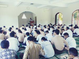 Jama;ah masjid Miftahul Jannah SMP Negeri 4 Pakem