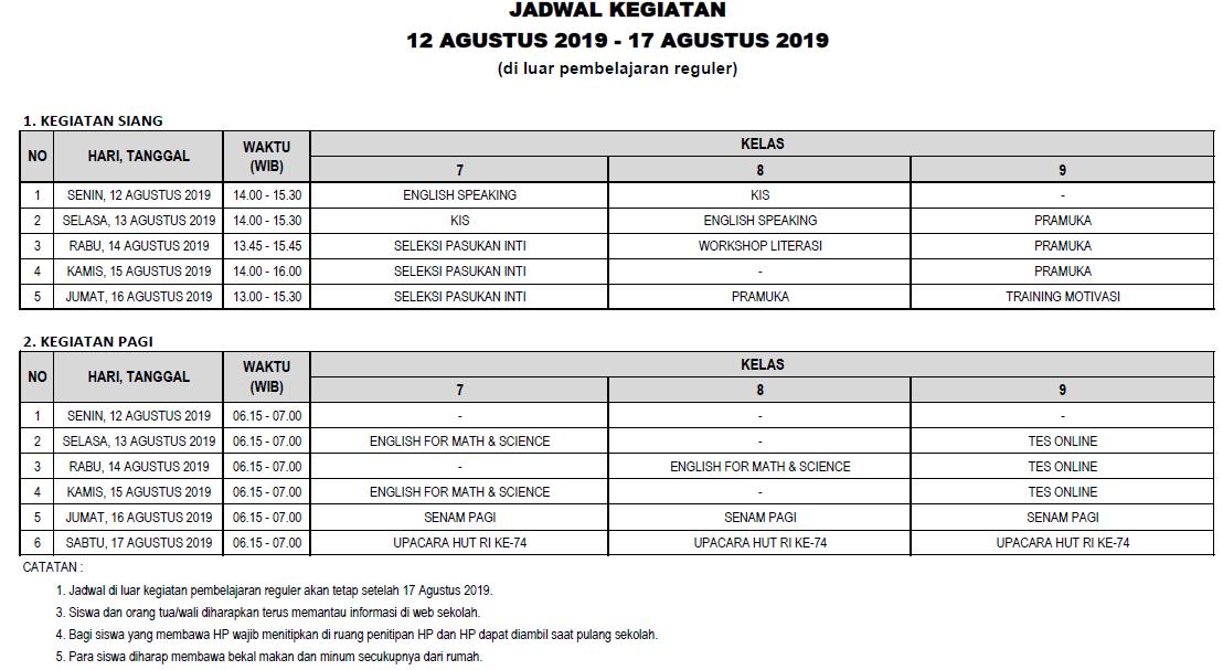 12-17 AGUSTUS 2019