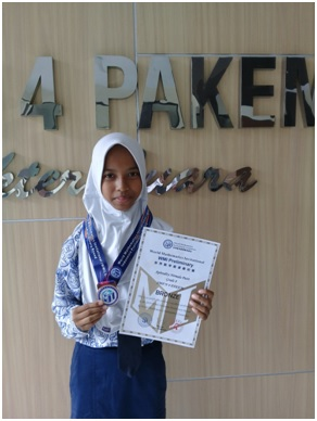 APHRODITY RAIH PENGHARGAAN DI WORLD MATHEMATICS INVITATIONAL 2019
