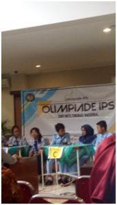 Tim IPS SMP 4 Pakem ketika berlaga di Olimpiade IPS UNY