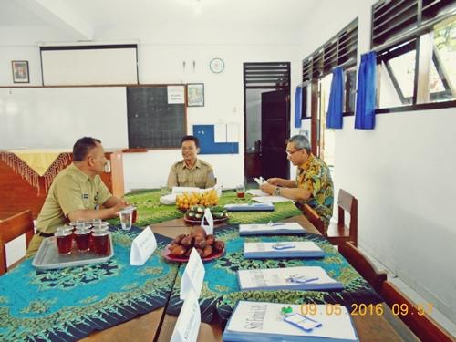 Monitoring Kabid. SMP Dikpora Sleman