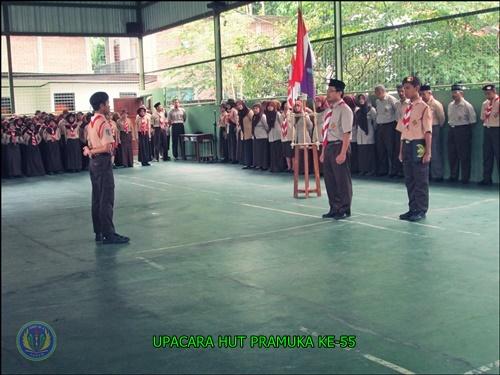 PERINGATAN HARI PRAMUKA KE -55 SMP N 4 PAKEM 2016 (1)