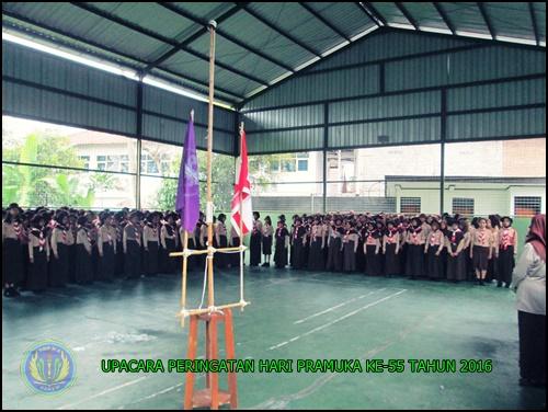 PERINGATAN HARI PRAMUKA KE -55 SMP N 4 PAKEM 2016 (2)