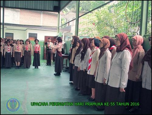 PERINGATAN HARI PRAMUKA KE -55 SMP N 4 PAKEM 2016 (4)