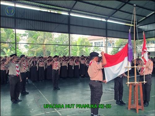 PERINGATAN HARI PRAMUKA KE -55 SMP N 4 PAKEM 2016 (5)