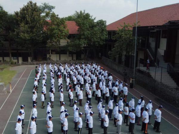 PENDIDIKAN FISIK MENTAL DAN DISIPLIN (FMD) OLEH SKUADRON DIDIK 105 TNI AU
