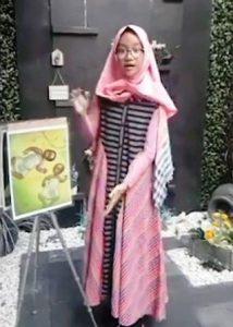 Miyari Parikertita Duta DIY Story Telling Tingkat Nasional.