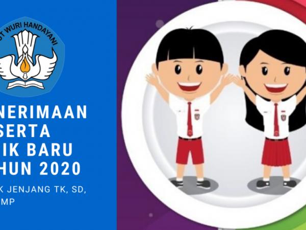 PENERIMAAN PESERTA DIDIK BARU (PPDB) TAHUN 2020
