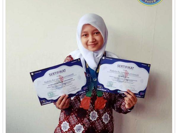 Mengenal profile :  NABILA AZZAHRA,  Salah Satu Pradyasiwi Yang Terus Berprestasi